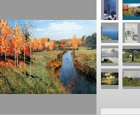 Web gallery sample (Photo gallery layout)